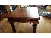 Sheesham john lewis side table