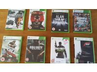 XBOX 360 games bundle (25 games)