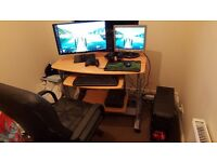 Gaming PC and complete setup
