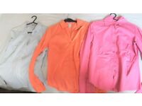 3 shirts H&M, Pull&Bear size 34