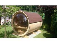 Garden Sauna - High standard