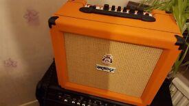 Orange Crush 35RT amp and footswitch