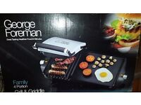 George Foreman grill with hot Plate