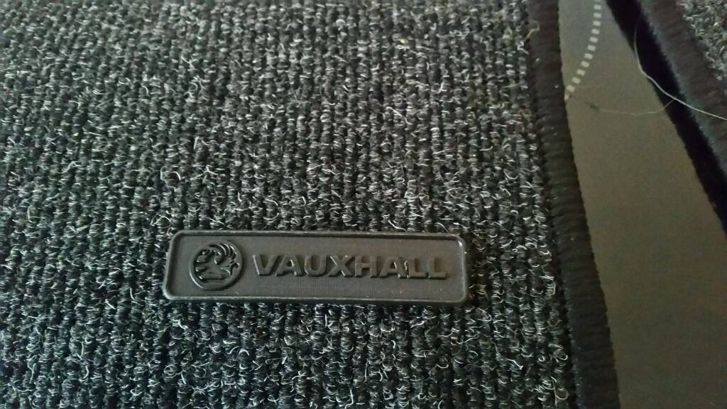 Vauxhall Corsa or Astra Mats