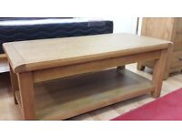 Brand New Solid Oak Coffee/TV Table