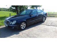 2003 Mercedes E Class Avantgarde, Low Miles only 62850, 1 Years Mot, Warranty