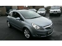 2007 VAUXHALL CORSA SXI 3 DOOR IDEAL FIRST CAR CHEAPER PX WELCOME