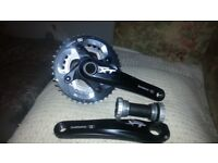 Shimano Deore XT M780 Chainset