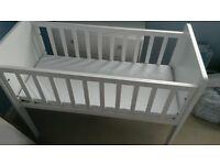 mothercare crib brand new