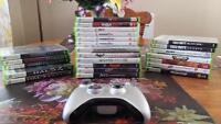 Selling 24 xbox 360 games + console
