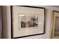 "D. Buckle Framed Print – ""Loch Linnhe; Looking South"""