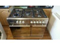 BEAUMATIC STAINLESS DUAL FUEL RANGE