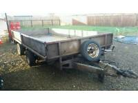 14x6 twin axle trailer fully galvanised