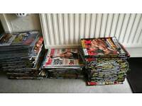 Mens muscle and fitness/flex magazines