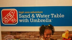 Sand & Water Table with Umbrella