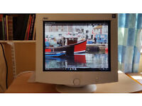 """AOC CRT 17.5"""" computer monitor (collection only)"""