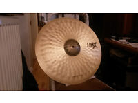 Sabian HHX Raw Bell Dry Ride Cymbal 21 inch (Natural finish)