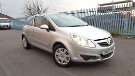 2007 Vauxhall Corsa 1.3 CDTi 16v Club, 3 Door, 2 P/OWNERS, F/S/H, 2 KEYS, DIESEL, HPI CLEAR, SILVER