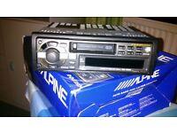 Alpine Radio Cassette