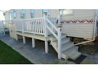 Static 8ft Decking and Chairs