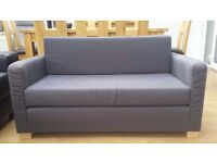 Ikea two-seater sofabed - grey