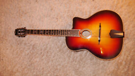 Gypsy Jazz Acoustic Guitar sold sold