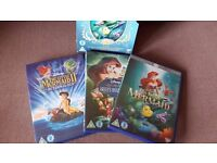 The Little Mermaid 3 dvd collection