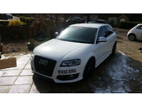 Audi S3 (8P) Stg2++, 2010,DSG, 62k miles, SAT NAV, FSH, Leather,long MOT, Cambelt+water pump changed
