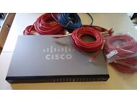 Cisco Switch perfect for a small business, excellent condition