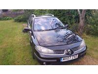 Renault Laguna spare or repair