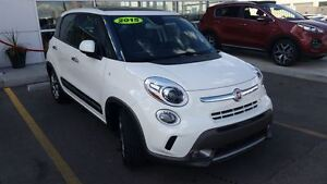 2015 Fiat 500L Trekking - 5 DOOR HATCHBACK - HUGE SUNROOF - NAVI