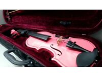 1/32 KIDS VIOLIN WITH CASE - 6 MONTHS WARRANTY
