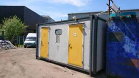 Portakabin toilet block