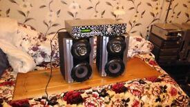 SONY Speakers+Amplifier
