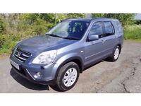 2006 *06* Honda Cr-v 2.2 ICDTi **DIESEL**4x4**TOWBAR**4 NEW TYRES**LONG MOT**Part ex Welcome