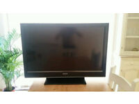 Sony 40 inch tv with built in freeview 1080p HDMI stand and remote