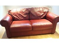 TWO LEATHER SOFAS USED COMFORTABLE!