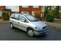 01 Vauxhall Zafira 1.6 Comfort 7 Seater Towbar Cheap Family MPV Galaxy Sharan Megane Scenic Picasso