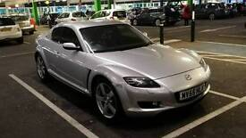 2005 Mazda RX-8 (231 PS) 9 months MOT & 1 year Tax 53k miles. Complete engine rebuild in 2013