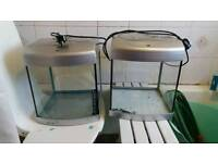 X2 fish tanks. Plus filters, heaters, pumps, ornaments and take plants