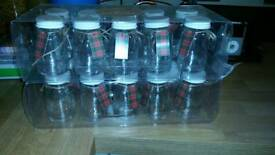 Paperchase 20 glass favour jars