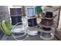 Various Electrical Wires each/as whole