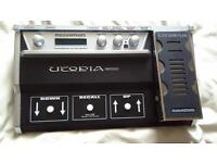 rocktron utopia g100 guitar effects processor