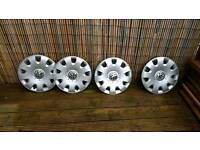 "Vw Golf 15"" wheel trims - set of 4"