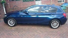 BMW 116d Efficient Dynamics - Blue 2013 - Low mileage - No tax to pay - 1 year's MOT
