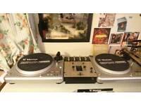 Vestax PDX-2000 Turntables/DJ Decks+ PMC-05 Pro II Mixer + Original Boxes