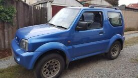 SUZUKI JIMNY 2002 BREAKING FOR SPARES