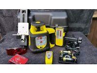 Proline FRE208 Heavy Duty Self Leveling Laser Level, Tripod & Staff