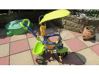 3 wheeler trike & handle