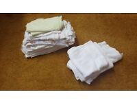23 cotton muslins + 3 large muslins squares